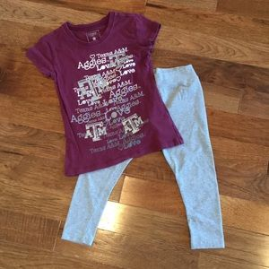 2 pc outfit!! Texas A & M